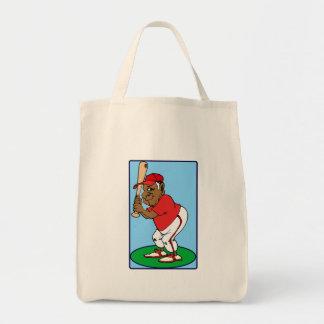 Baseball Gramps Tote Bag
