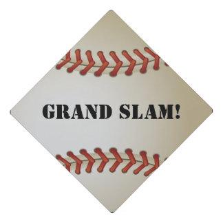 Baseball Grand Slam Graduation Hat Design