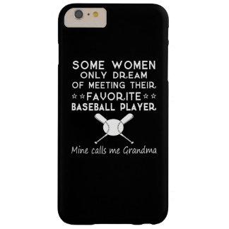 BASEBALL GRANDMA BARELY THERE iPhone 6 PLUS CASE