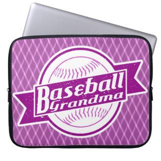 Baseball Grandma Laptop Sleeve