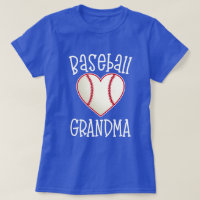 Baseball Grandma womens game day fan gift T-Shirt