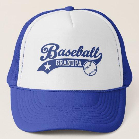 Baseball Grandpa Trucker Hat  7dc63bcb43e7