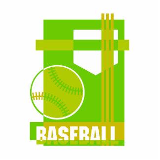 Baseball  green cutout