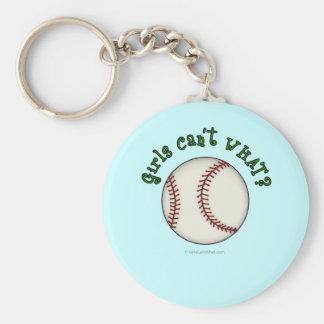 Baseball-Green Key Chains