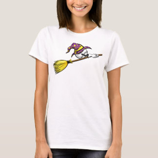 Baseball Halloween Witch T-Shirt