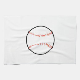 BASEBALL HAND TOWEL