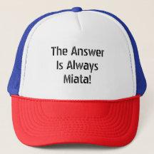 0d21bd6fd Mazda Miata Hats & Caps | Zazzle