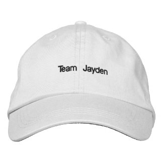 Baseball hat to support child with leukemia embroidered baseball cap