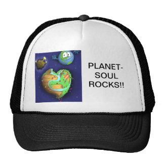 Baseball HatPLANET-SOUL ROCKS!! Trucker Hat