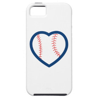 BASEBALL HEART iPhone 5 CASES