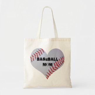 Baseball Heart tote bag