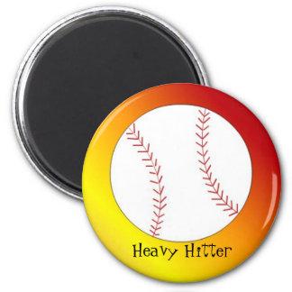Baseball - Heavy Hitter Magnet