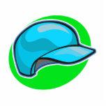 baseball helmet acrylic cut outs