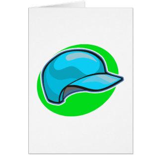baseball helmet card