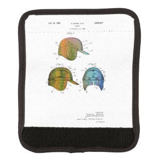 BASEBALL HELMET PATENT - Luggage Handle Wrap