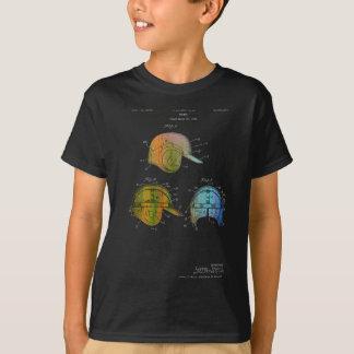 BASEBALL HELMET PATENT - T-shirts