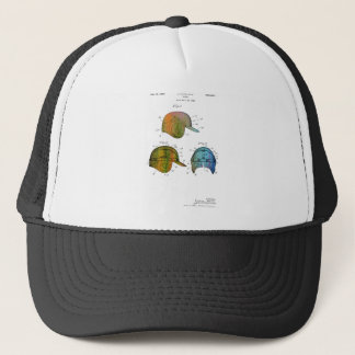 BASEBALL HELMET PATENT - Truckers Hat