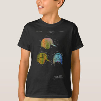 BASEBALL HELMET PATENT - Youth T-shirt Mens/Boys