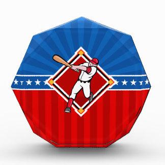 Baseball Hitter Acrylic Award