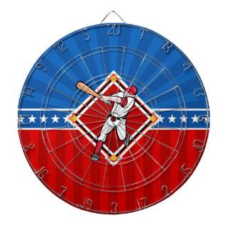 Baseball Hitter Dartboard With Darts