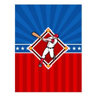 Baseball Hitter Postcard