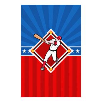 Baseball Hitter Stationery