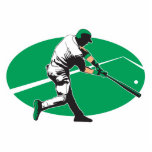 baseball hitter vector illustration photo cut outs