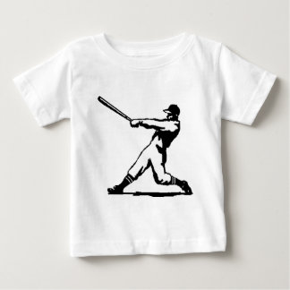 Baseball hitting baby T-Shirt