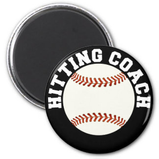 Baseball Hitting Coach Magnet