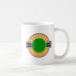 Baseball Hoboken Established Logo Mugs
