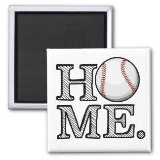 Baseball Home Magnet
