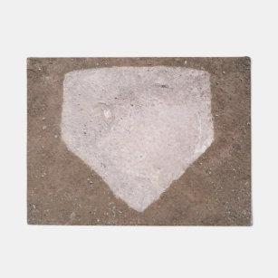 Baseball Home Plate Doormat