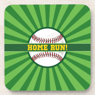 Baseball Home Run Coaster