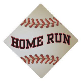 Baseball Home Run Graduation Cap Topper