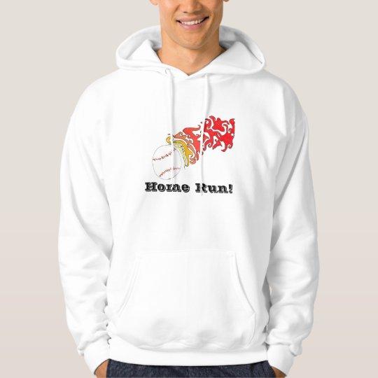 Baseball home run hoodie