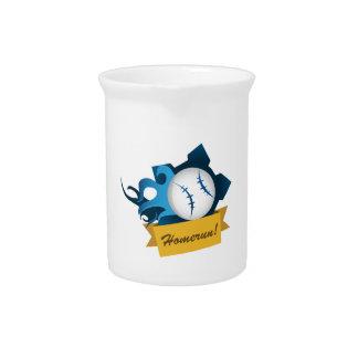 Baseball Homerun Beverage Pitcher