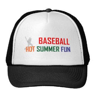 Baseball Hot Summer Fun Trucker Hat