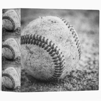 Baseball in Black and White Binder
