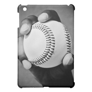 baseball in hand iPad mini cover