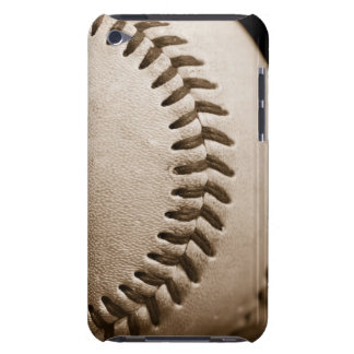 Baseball in Sepia Barely There iPod Cover