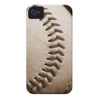 Baseball in Sepia iPhone 4 Case-Mate Cases