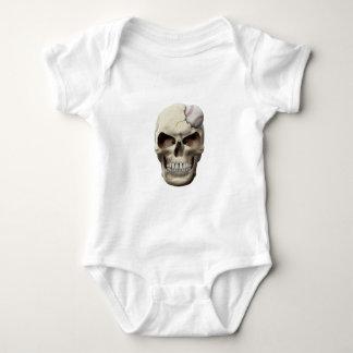 Baseball in Skull Baby Bodysuit