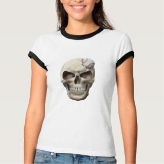 Baseball in Skull T-Shirt