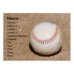 baseball in the dirt business card templates
