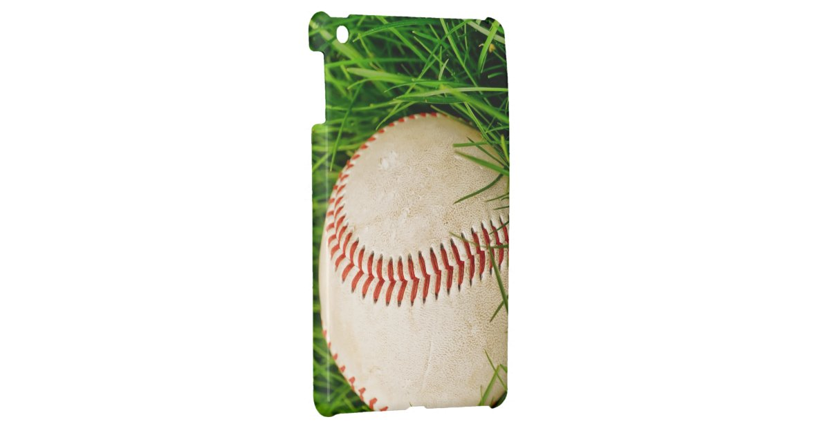 Baseball in the Tall Summer Grass iPad Mini Cover | Zazzle