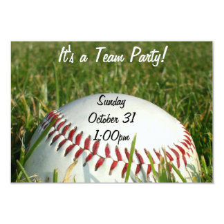 Baseball Personalized Announcements