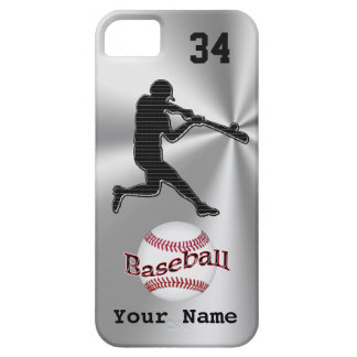 Baseball iPhone 5S Cases with YOUR NAME and NUMBER iPhone SE/5/5s Case