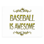 Baseball is Awesome Postcard