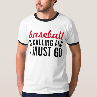 baseball is calling and i must go t shirt - Baseball T Shirt Designs Ideas