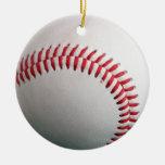 baseball is cool christmas ornament